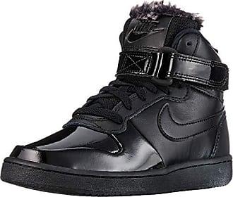 best service d66c3 d7452 Nike WMNS Ebernon Mid Prem, Chaussures de Basketball Femme, Noir (Black 001)