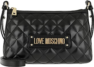 7aa4c43d5cb4a Love Moschino Quilted Nappa Pu Crossbody Bag Nero Umhängetasche schwarz