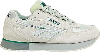 Hi-Tec Mens Silver Shadow Trainers - Silver/OG Green - Size 7 UK