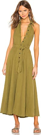 Mara Hoffman Rosemary Dress in Olive