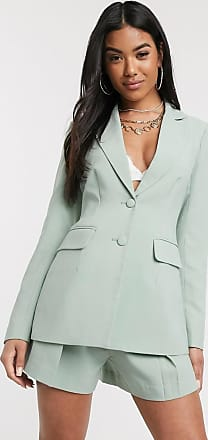 4th & Reckless 4th & Reckless fitted blazer in mint-Green
