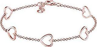 Elli Femme Bracelet de Cheville Plume Boho 925 Argent 22cm
