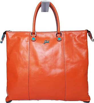 Gabs GABS Pegaso Bag G3 PLUS TG L transformable made in Italy Leather 43x37 cm G33T2 P0263 C45 - Orange