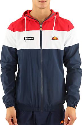Ellesse Mens Mattar Retro Hooded Jacket Navy XL