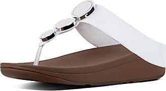 1b49a85347a95e FitFlop Fitflop Halo Zehensteg-Sandalen mit Keilabsatz
