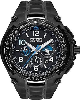 Orient Relógio Orient Masculino Ref: Mpttc001 P2px Flytech Titânio Cronógrafo Black