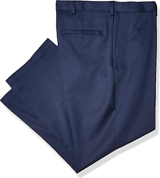 Haggar Mens Big /& Tall No-Iron Denim Pant