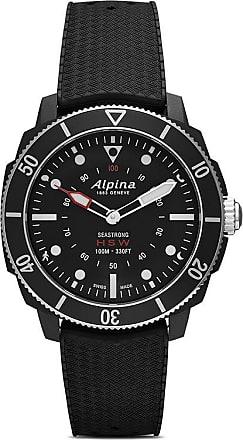 Alpina Relógio Smartwatch Seastrong Horological 44mm - BLACK