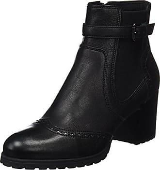 Geox D New Lise C, Bottes Chelsea Femme, Noir (Black), 36 a75e3a97d461