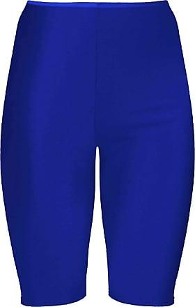 Ladies Lycra Stretch Shiny Gym Shorts Unisex Nylon Dance Cycling All Sizes