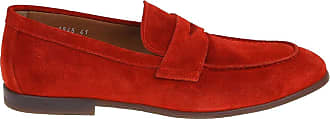 Doucal's Suede Loafers, 42 Red