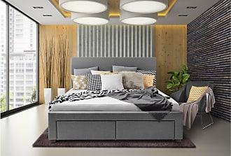 Stylefy LIGIA Polsterbett (BxLxH): 164x220x106 cm