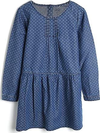 Tip Top Vestido Tip Top Infantil Bolinhas Azul