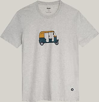 Brava Fabrics Camiseta Hombre - Camiseta para Hombre - 100% Algodón Orgánico - Modelo Tuk Tuk Race