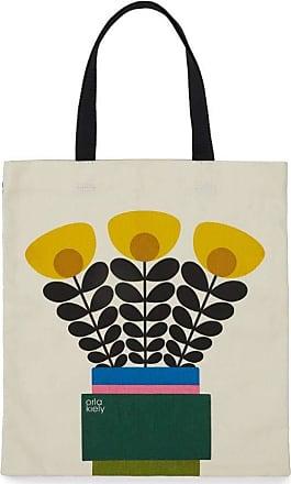 Orla Kiely Book Bag - Daffodil