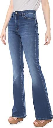 Triton Calça Jeans Triton Flare Estonada Azul