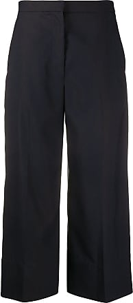 3.1 Phillip Lim back darts cropped trousers - Black