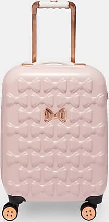 Ted Baker Bow Detail Small Suitcase in Pink BEAUE, Womens Accessories