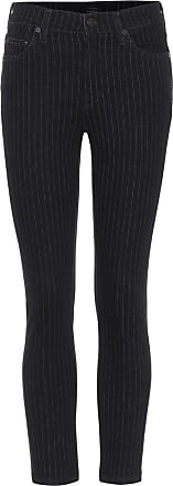 Citizens Of Humanity Rocket pinstripe cropped jeans