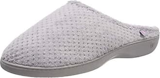 3fd8411375a87c Isotoner Ladies Popcorn Terry Mule Slippers, Chaussons Femme, Gris (Pale  Grey Pgr)