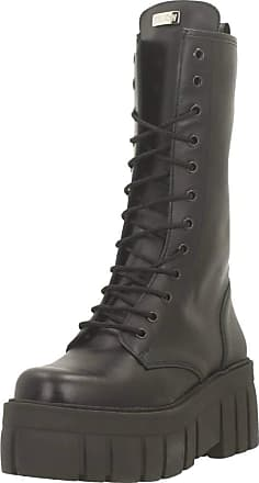 Yellow Women Womens Boots BOLDEST Black 5.5 UK