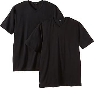 Schiesser Mens Vest, 008151-000, Black (000-Schwarz), Large (L)