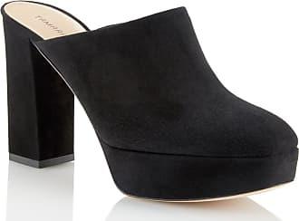 Tamara Mellon Runaway Black Suede Pumps, Size - 37.5