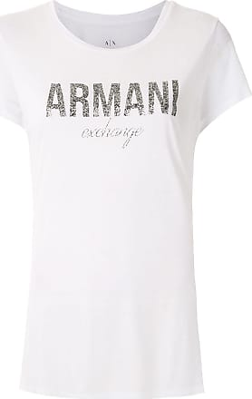 A|X Armani Exchange T-shirt com estampa - Branco