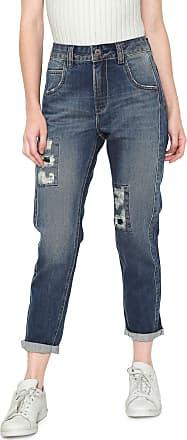 Oh, Boy! Calça Jeans OH BOY Skinny Cropped Tacos Azul