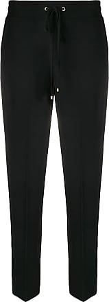 Blumarine drawstring trousers - Preto