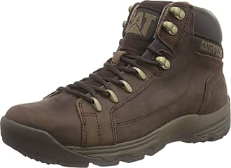 CAT Mens Supersede Ankle Boots, Brown (Coach), 10 UK