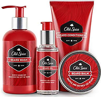 Old Spice Beard Kit for Men - Oil, Balm, Shampoo, Wash, and Conditioner, Beard Care & Grooming Kit