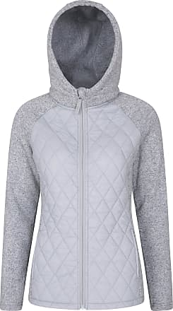 Mountain Warehouse Ascent Womens Padded Jacket - Casual Ladies Puffer Jacket, Full Zip Winter Coat, Hooded, Warm & Cosy - Ideal for Snowy Holidays, Travel & Daily Use Li