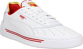96998ca4ff8c3 Puma Baskets & Tennis mode PUMA Cali Drive Thru cuir Homme Blanc