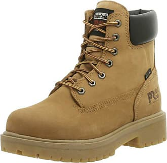 Timberland PRO Mens Direct Attach Six-Inch Soft-Toe Boot, Wheat Nubuck,11.5 M