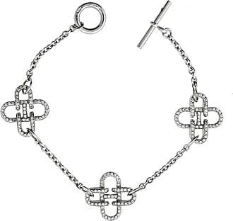 Hermès Rose de Mer Diamond Gold Bracelet