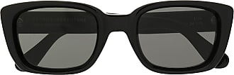 Retro Superfuture square framed Lira sunglasses - Black