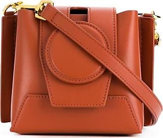 Yuzefi chain handle mini tote bag - Brown