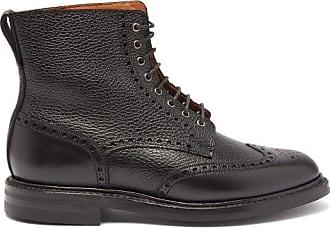 Crockett & Jones Grace 2 Leather Ankle Boots - Womens - Black