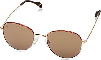 ad4876ee61 Wolfnoir AKELA BICOME BROWN - Gafas De Sol unisex color blanco/marrón,  talla única