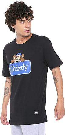 Grizzly Camiseta Grizzly Travel Bear Preta
