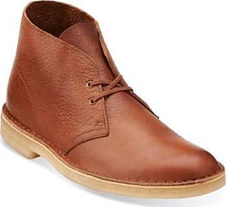 Clarks Mens Desert Chukka Boot Tan Leather Men UK-12 G EU-47 M