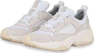 Marc O'Polo Plateau-Sneaker - WEISS/ HELLGRAU