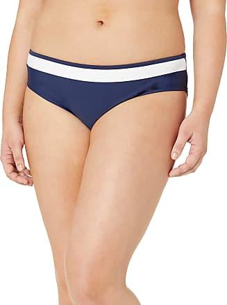 Panache Swim Womens Anya Cruise Classic Swim Bikini Bottoms, Navy/White, X-Large