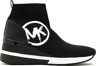 Michael Michael Kors Tênis Skyler Bootie cano alto - Preto