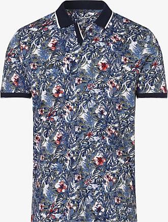 Olymp Level 5 Herren Poloshirt blau