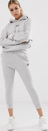 adidas Originals RYV cuffed joggers in grey