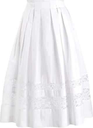 Escada Sport cut out lace skirt - Branco