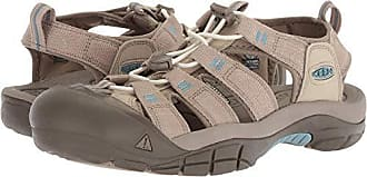 Keen Womens Newport H2-W Sandal, Plaza Taupe/Provincial Blue, 5 M US