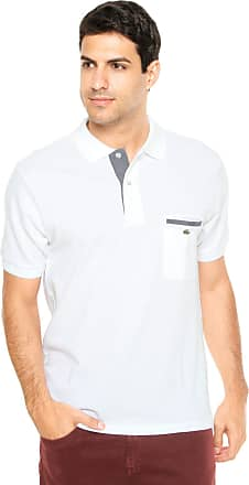 bc10a1f2c6a Lacoste Camisa Polo Lacoste Regular Fit Classic Fit Branca